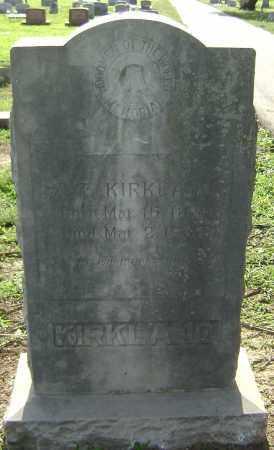 KIRKLAND, Z.T. - Lawrence County, Arkansas   Z.T. KIRKLAND - Arkansas Gravestone Photos