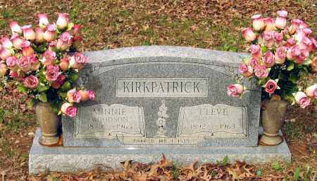 """KIRKPATRICK, CLEVELAND """"CLEVE"""" - Lawrence County, Arkansas 