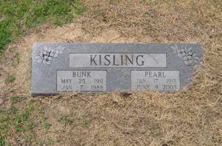 KISLING, BUNK - Lawrence County, Arkansas | BUNK KISLING - Arkansas Gravestone Photos