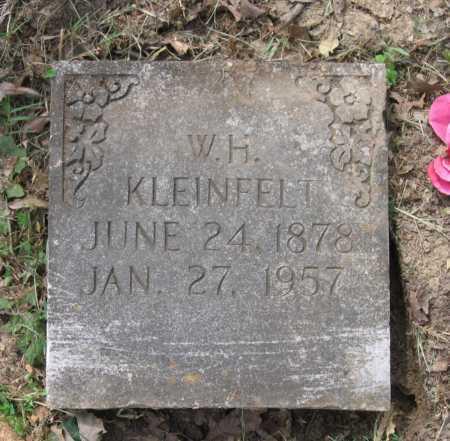 KLEINFELT, W. H. - Lawrence County, Arkansas | W. H. KLEINFELT - Arkansas Gravestone Photos