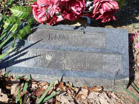 KNAUSS, CHARLES K. - Lawrence County, Arkansas | CHARLES K. KNAUSS - Arkansas Gravestone Photos