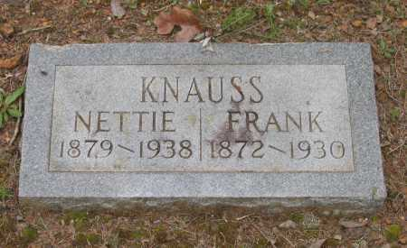 KNAUSS, FRANK - Lawrence County, Arkansas   FRANK KNAUSS - Arkansas Gravestone Photos