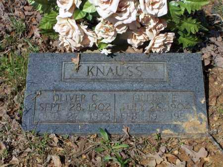 KNAUSS, LILLIAN EDITH - Lawrence County, Arkansas | LILLIAN EDITH KNAUSS - Arkansas Gravestone Photos