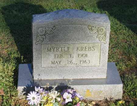KREBS, MYRTLE - Lawrence County, Arkansas | MYRTLE KREBS - Arkansas Gravestone Photos