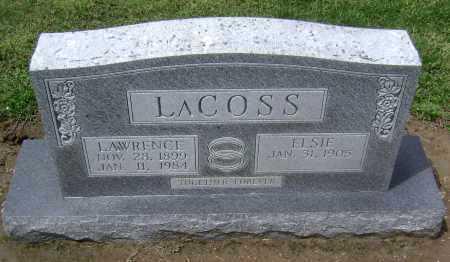 LACOSS, ELSIE - Lawrence County, Arkansas | ELSIE LACOSS - Arkansas Gravestone Photos