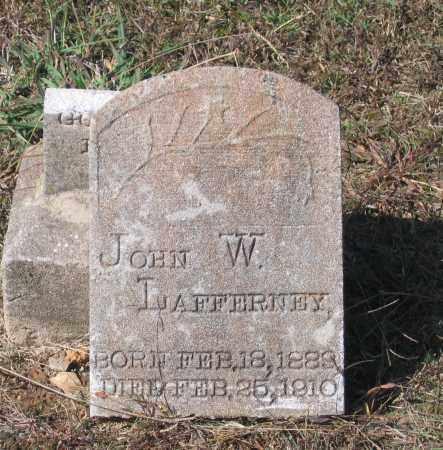 LAFFERNEY, JOHN W. - Lawrence County, Arkansas | JOHN W. LAFFERNEY - Arkansas Gravestone Photos
