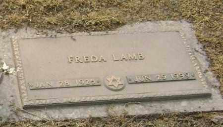 LAMB, FREDA - Lawrence County, Arkansas | FREDA LAMB - Arkansas Gravestone Photos