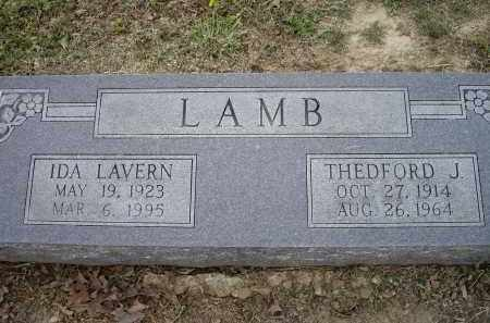 LAMB, IDA LAVERN - Lawrence County, Arkansas | IDA LAVERN LAMB - Arkansas Gravestone Photos