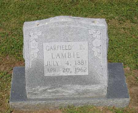 LAMBIE, GARFIELD EUGENE - Lawrence County, Arkansas | GARFIELD EUGENE LAMBIE - Arkansas Gravestone Photos
