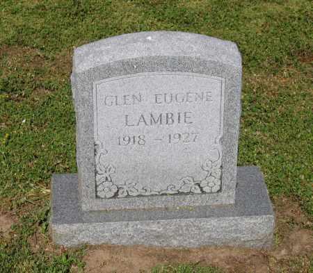 LAMBIE, GLEN EUGENE - Lawrence County, Arkansas | GLEN EUGENE LAMBIE - Arkansas Gravestone Photos