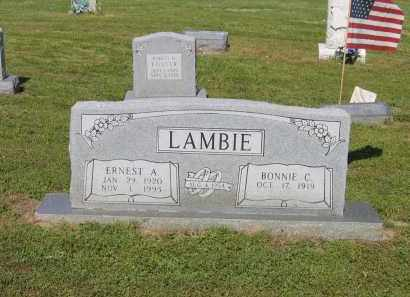 STATLER LAMBIE, BONNIE CHRISTINE - Lawrence County, Arkansas | BONNIE CHRISTINE STATLER LAMBIE - Arkansas Gravestone Photos