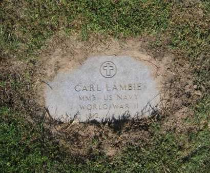LAMBIE (VETERAN WWII), CARL - Lawrence County, Arkansas | CARL LAMBIE (VETERAN WWII) - Arkansas Gravestone Photos
