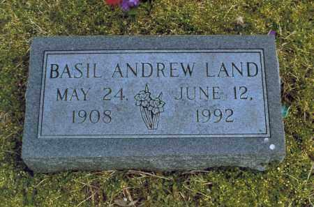 LAND, BASIL ANDREW - Lawrence County, Arkansas | BASIL ANDREW LAND - Arkansas Gravestone Photos