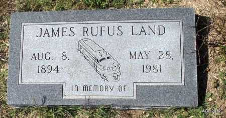 LAND, JAMES RUFUS - Lawrence County, Arkansas | JAMES RUFUS LAND - Arkansas Gravestone Photos