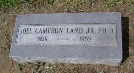 LAND JR, PHD, JOEL CAMERON - Lawrence County, Arkansas   JOEL CAMERON LAND JR, PHD - Arkansas Gravestone Photos