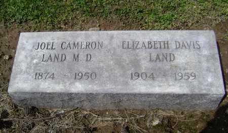 LAND, MD, JOEL CAMERON - Lawrence County, Arkansas | JOEL CAMERON LAND, MD - Arkansas Gravestone Photos