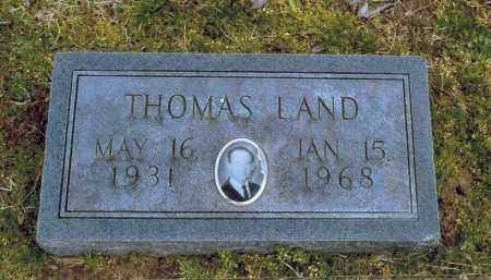 LAND, THOMAS GENE - Lawrence County, Arkansas | THOMAS GENE LAND - Arkansas Gravestone Photos