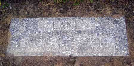 LANE, JACK O. - Lawrence County, Arkansas   JACK O. LANE - Arkansas Gravestone Photos