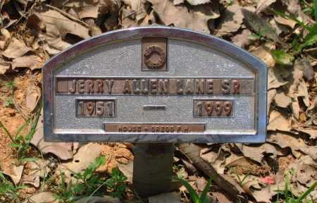 LANE, SR., JERRY ALLEN - Lawrence County, Arkansas   JERRY ALLEN LANE, SR. - Arkansas Gravestone Photos