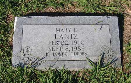 LANTZ, MARY ELLA - Lawrence County, Arkansas | MARY ELLA LANTZ - Arkansas Gravestone Photos