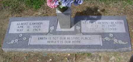 LAWHON, NELLIE - Lawrence County, Arkansas | NELLIE LAWHON - Arkansas Gravestone Photos