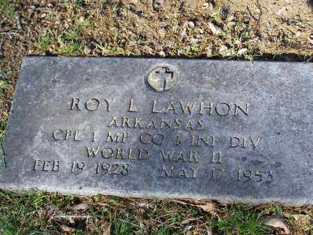 LAWHON, JR. (VETERAN WWII), ROY LEE - Lawrence County, Arkansas | ROY LEE LAWHON, JR. (VETERAN WWII) - Arkansas Gravestone Photos