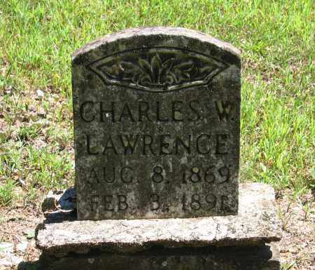 LAWRENCE, CHARLES W. - Lawrence County, Arkansas   CHARLES W. LAWRENCE - Arkansas Gravestone Photos
