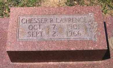 LAWRENCE, CHESSER R. - Lawrence County, Arkansas   CHESSER R. LAWRENCE - Arkansas Gravestone Photos