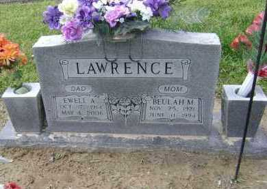 LAWRENCE, EWELL ALONZO - Lawrence County, Arkansas | EWELL ALONZO LAWRENCE - Arkansas Gravestone Photos