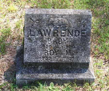 LAWRENCE, INFANT - Lawrence County, Arkansas   INFANT LAWRENCE - Arkansas Gravestone Photos