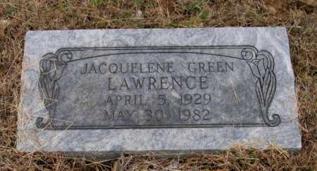 LAWRENCE, JACQUELENE - Lawrence County, Arkansas | JACQUELENE LAWRENCE - Arkansas Gravestone Photos