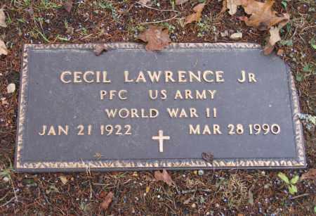 LAWRENCE JR. (VETERAN WWII), WILLIAM CECIL - Lawrence County, Arkansas | WILLIAM CECIL LAWRENCE JR. (VETERAN WWII) - Arkansas Gravestone Photos