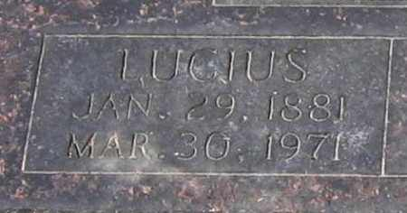 LAWRENCE, LUCIUS - Lawrence County, Arkansas | LUCIUS LAWRENCE - Arkansas Gravestone Photos