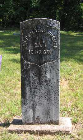 LAWRENCE (VETERAN UNION), BENJAMIN FILMORE - Lawrence County, Arkansas | BENJAMIN FILMORE LAWRENCE (VETERAN UNION) - Arkansas Gravestone Photos