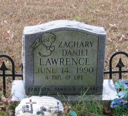 LAWRENCE, ZACHARY DANIEL - Lawrence County, Arkansas   ZACHARY DANIEL LAWRENCE - Arkansas Gravestone Photos