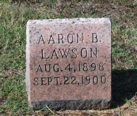 LAWSON, AARON BEALER - Lawrence County, Arkansas | AARON BEALER LAWSON - Arkansas Gravestone Photos