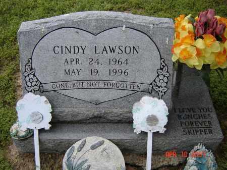 LAWSON, CINDY - Lawrence County, Arkansas | CINDY LAWSON - Arkansas Gravestone Photos