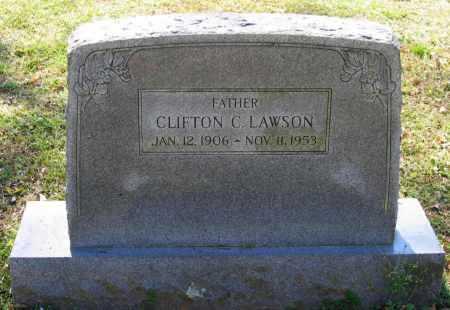 LAWSON, CLIFTON C. - Lawrence County, Arkansas   CLIFTON C. LAWSON - Arkansas Gravestone Photos