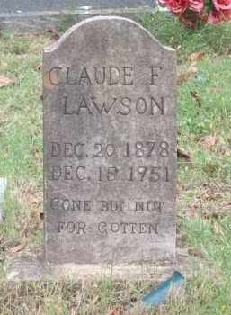 LAWSON, CLAUDE FRANKLIN - Lawrence County, Arkansas | CLAUDE FRANKLIN LAWSON - Arkansas Gravestone Photos