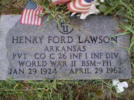 LAWSON (VETERAN WWII), JAMES HENRY FORD - Lawrence County, Arkansas | JAMES HENRY FORD LAWSON (VETERAN WWII) - Arkansas Gravestone Photos
