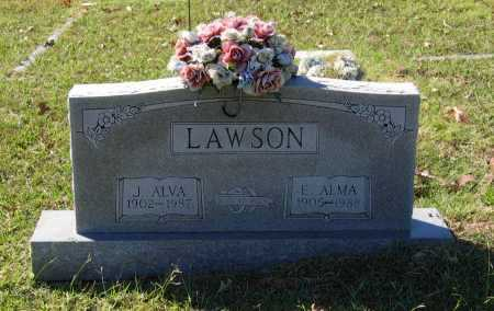 LAWSON, ESSIE ALMA - Lawrence County, Arkansas | ESSIE ALMA LAWSON - Arkansas Gravestone Photos