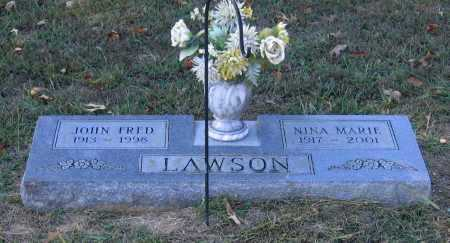 HALL LAWSON, NINA MARIE - Lawrence County, Arkansas | NINA MARIE HALL LAWSON - Arkansas Gravestone Photos