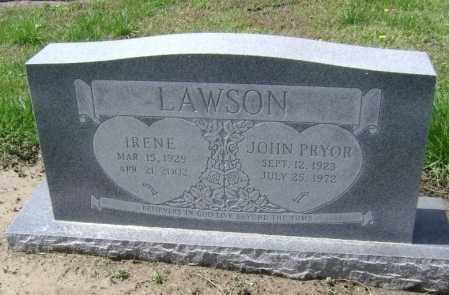 LAWSON, IRENE ARLENE - Lawrence County, Arkansas   IRENE ARLENE LAWSON - Arkansas Gravestone Photos