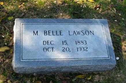 """DAVIDSON, MARY BELLE """"MOLLIE"""" PHILLIPS LAWSON MCCULLOUGH - Lawrence County, Arkansas 