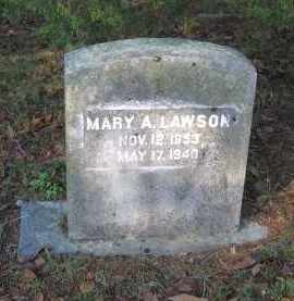 LAWSON, MARY ANN - Lawrence County, Arkansas | MARY ANN LAWSON - Arkansas Gravestone Photos