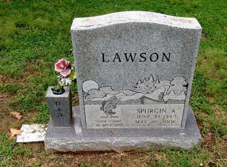 LAWSON, SPURGIN A. - Lawrence County, Arkansas | SPURGIN A. LAWSON - Arkansas Gravestone Photos