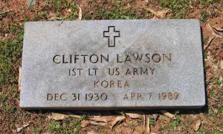 LAWSON (VETERAN KOR), CLIFTON - Lawrence County, Arkansas | CLIFTON LAWSON (VETERAN KOR) - Arkansas Gravestone Photos