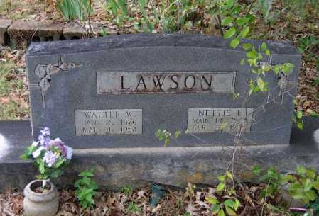 LAWSON, NETTIE ELZINE - Lawrence County, Arkansas | NETTIE ELZINE LAWSON - Arkansas Gravestone Photos