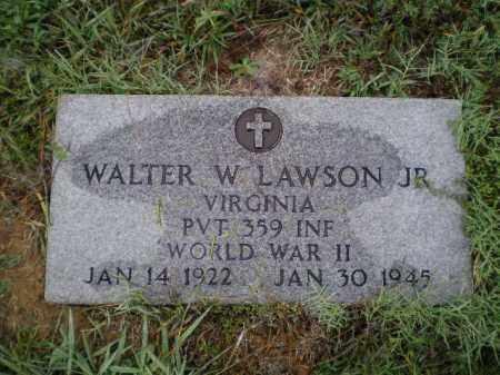 LAWSON, JR. (VETERAN WWII), WALTER WILLIAM - Lawrence County, Arkansas   WALTER WILLIAM LAWSON, JR. (VETERAN WWII) - Arkansas Gravestone Photos