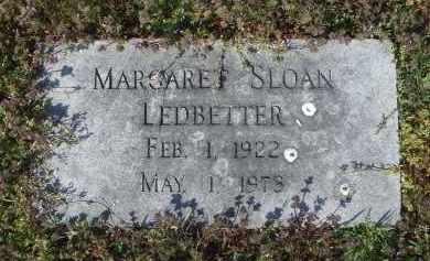 SLOAN LEDBETTER, MARGARET ADELE - Lawrence County, Arkansas | MARGARET ADELE SLOAN LEDBETTER - Arkansas Gravestone Photos